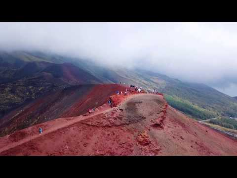 ETNA dal DRONE | Volcano Etna by drone - DJI MAVIC PRO