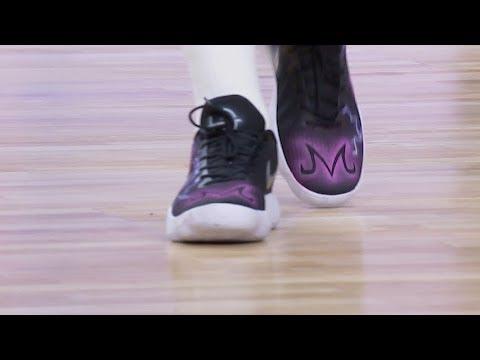 Enemistarse visitante Rendición  Las zapatillas de Luka Doncic, ¡inspiradas en Dragon Ball! - YouTube