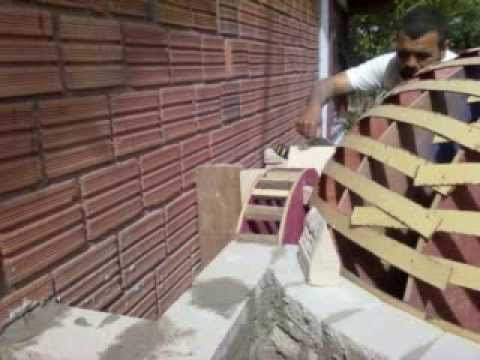 construao do forno a lenha house pizza  YouTube