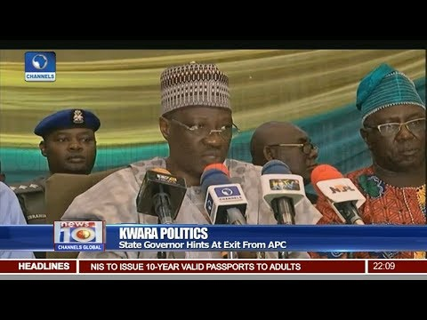 Kwara Governor, Ahmed Hints Of Exit From APC