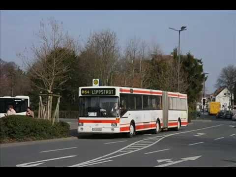 [Sound] Bus MAN SG 242 (SO-AP 850) der Fa Anton Stehrenberg Omnibus-Reisedienst, Geseke