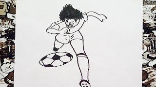 Como dibujar a Oliver atom paso a paso | how to draw oliver atom | como desenhar oliver tsubasa