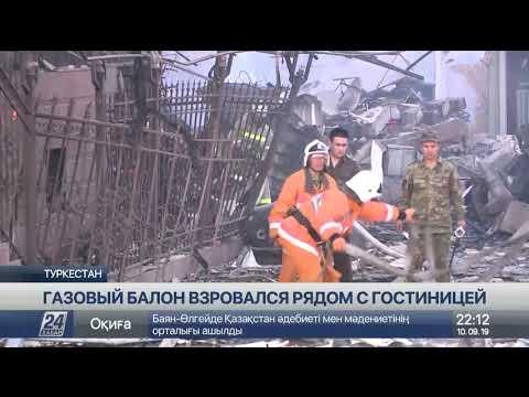 Крупный пожар после взрыва потушен в Туркестане