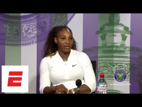 Serena Williams vs. Post Wimbledon 2018 Press Conference Interview Full