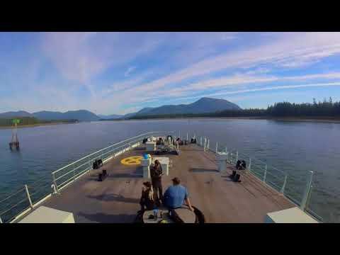 HMCS EDMONTON Transit Wrangell Narrows Northbound Alaska 10 August 2017