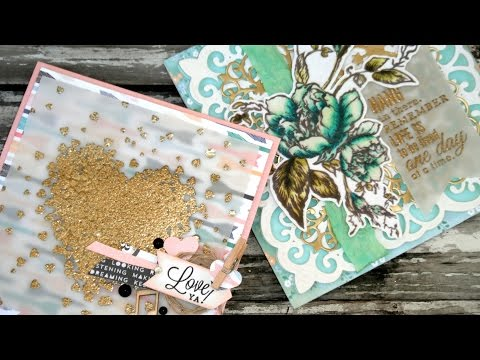 How to Foil without a Laminator! - Heat Emboss & Foil Digital Stamps
