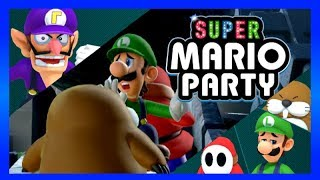 Super Mario Party (3 Players): Whomp's Domino Ruins -