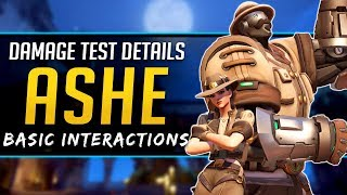 Overwatch Ashe Damage & Interactions - PTR Testing