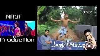 ▶ Lungi Dance Full Song HD 1080 from Chennai Express 2013 Shahrukh Khan, Deepika Padukone   YouTube