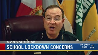 Sheriff warns about rumors on social media after school lockdown
