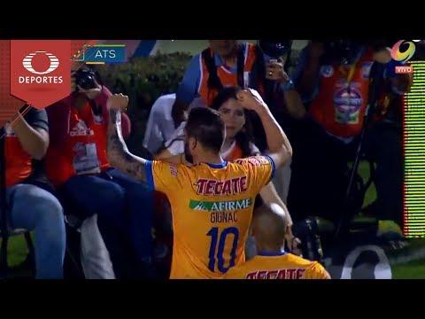 Gol de Gignac | Tigres 1- 0 Atlas | Clausura 2018 - Jornada 8 | Televisa Deportes