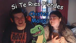 Si Te Ries Pierdes (CHISTES CON CASTIGO SEMILLAS ASQUEROSAS) Con Tessy