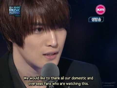 {ENGSUB} 091121 DBSK winning Best Asia Star@M.A.M.A.