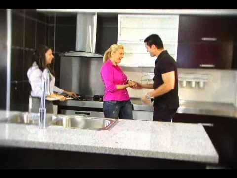 Hipercentro corona cocinas youtube for Catalogo de cocinas integrales