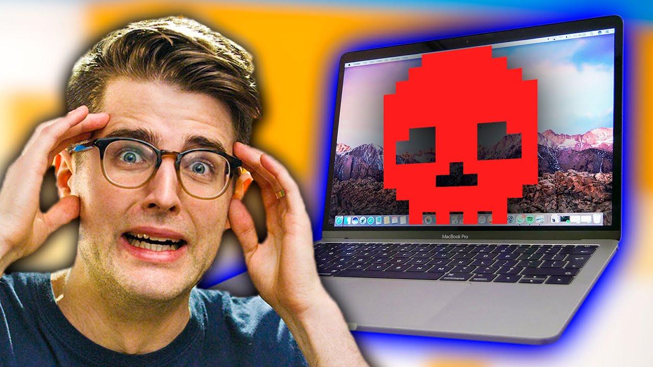 Macbooks are breaking...