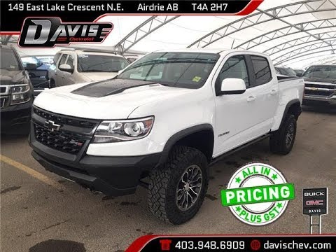 2017 Chevy Colorado Zr2 >> 2018 Chevrolet Colorado ZR2 | Davis Chevrolet | Airdrie AB - YouTube