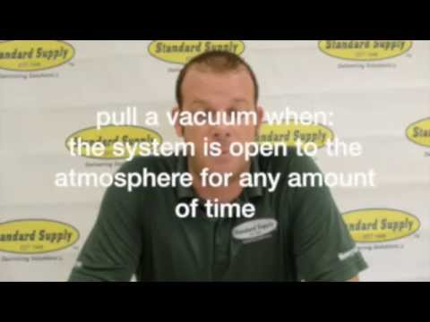Tech Tip #9: HVAC Systems: The Importance of Pulling a Proper Vacuum