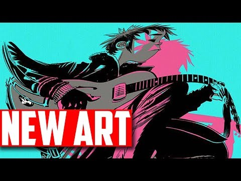 New Gorillaz Art (feat. Ace)   May 2018