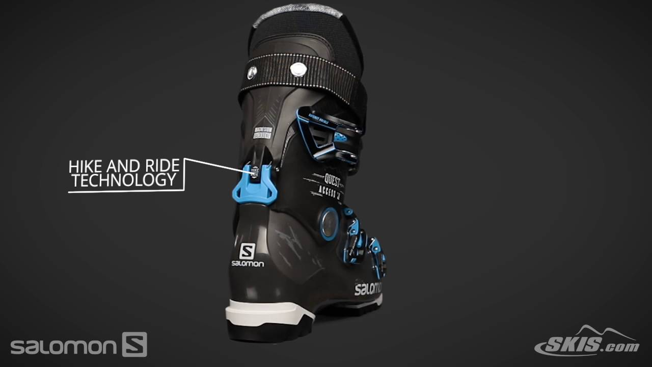 9e2439ae16a4 2017 Salomon Quest Access 80 Mens Boot Overview by SkisDotCom - YouTube