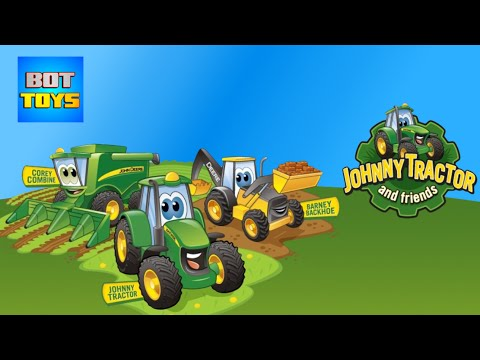 Videos de tractores infantiles de juguete, app para iPhone Johnny Tractor And Friends