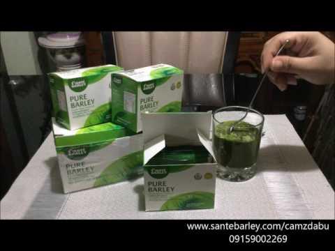 Sante Pure Barley Juice - Sante International - CamzDabu / Philippines
