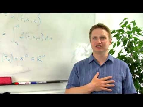 Markus Mueller: Using applied mathematics to solve problems