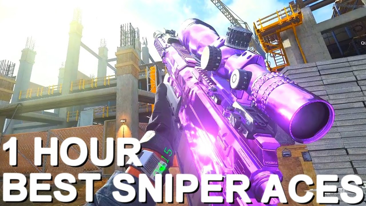 1 HOUR LONG of the BEST Search & Destroy Sniping