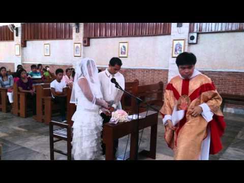 Ilocano Catholic Wedding Rite, Calayan Island 2015