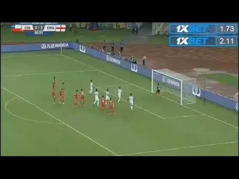 Angel Gomez freekick goal u17 world cup