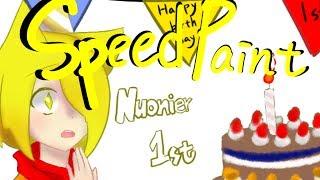 speedpaint happy birthday nuonier may 28th by 璃奈りな