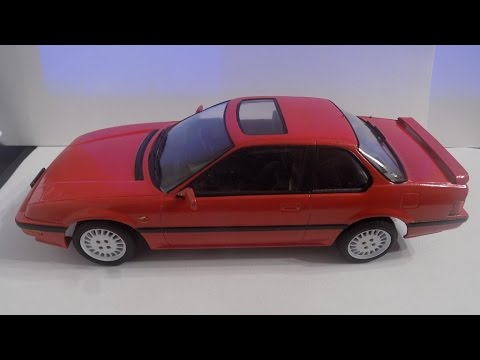 Building Honda Prelude Mk3 1 24 Fujimi
