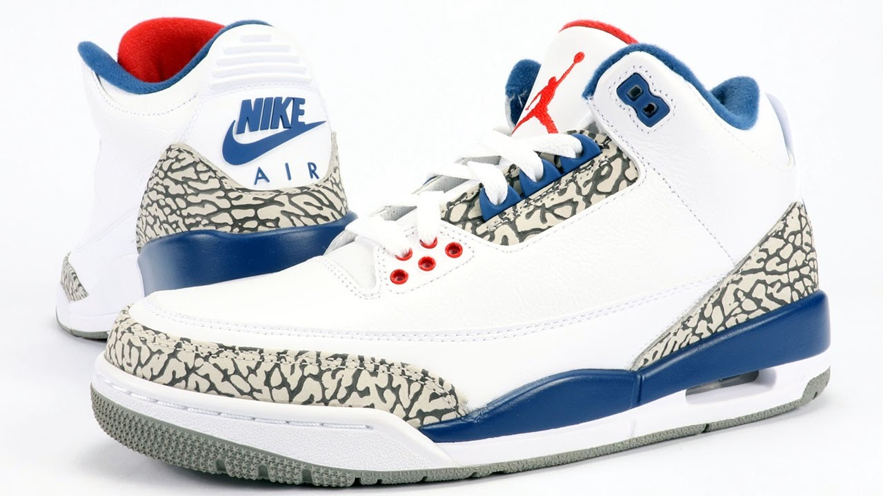 8ee1d11c45c312 Air Jordan 3 OG True Blue 2016 Review - YouTube