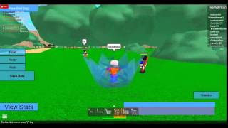 Roblox Dragon ball z:ep.3