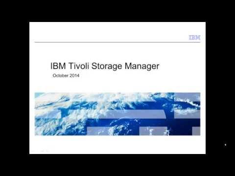 Tivoli Storage Manager (as of 7.1.1) - basic, high-level presentation