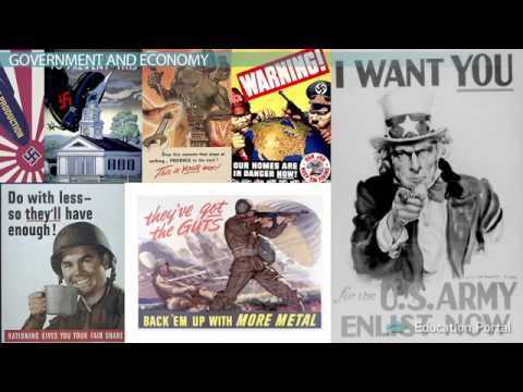 Lesson 6 The United States During WWII The Home Front   Video & Lesso