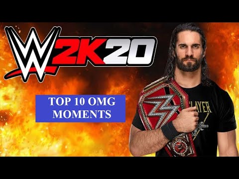 #wwe2k19 #wwe2k20 #omgMoments WWE 2k20|Game | Top 10 OMG Moments