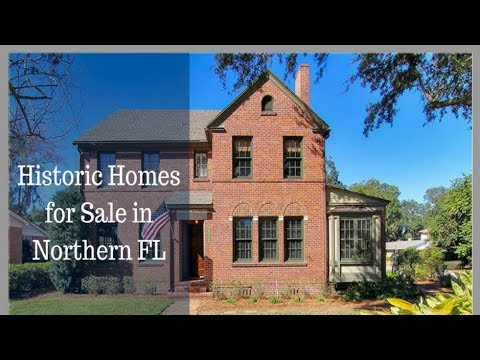 Historic Homes for Sale in Northern FL - Call Janie at 904-525-1008 - Florida Real Estate