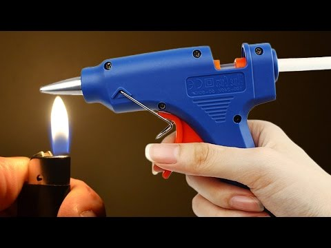 Thumbnail: 9 Awesome HOT GLUE Gun Life Hacks