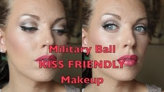 Military Ball KISS FRIENDLY Makeup!