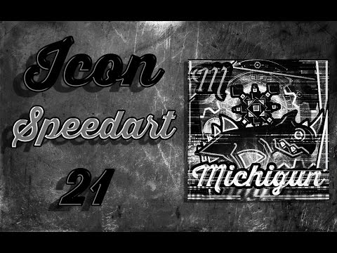 Icon Speedart #21 - Michigun (Fanpic)