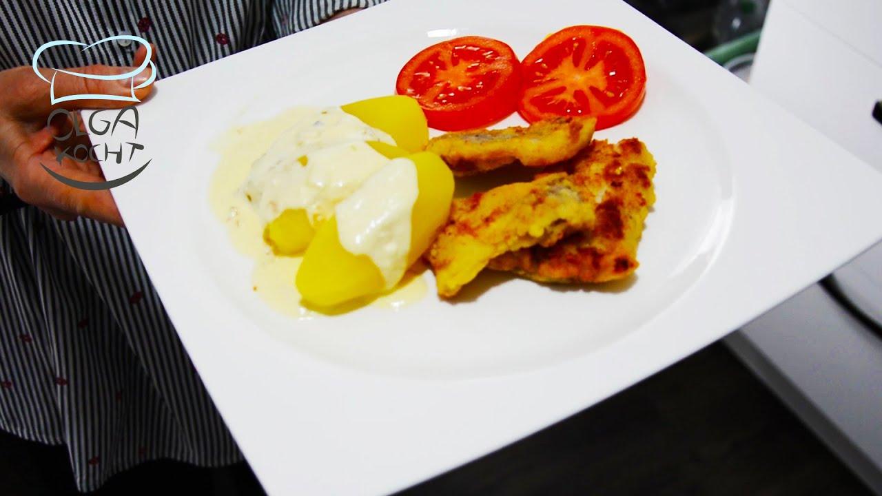 Mehlschwitze / Tunk Brie - Mit Salzkartoffeln und Fisch