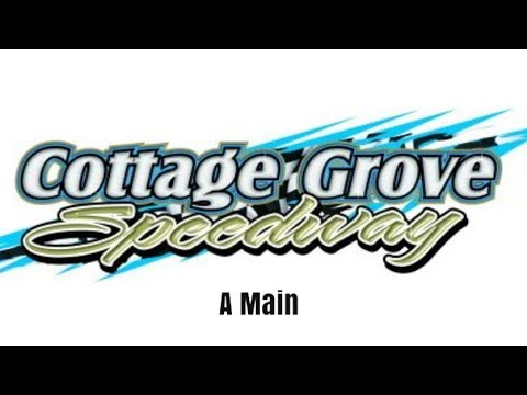 Sprint Car Win Live at the Cottage Grove Speedway!