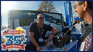 Florida RV SuperShow 2020 - Truma, Lance, and chance encounters.