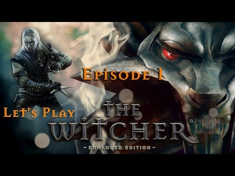 Let's Play The Witcher - Ep. 1 - White Wolf resurrected