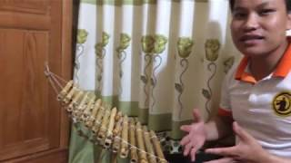Hướng dẫn tháo lắp và sử dụng  đàn T'rưng mini - Bảo Hiếu