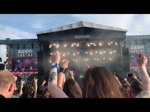 Parkway drive - wild eyes - live download festival 2018