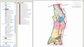 Data View Seleccionar deseleccionar figuras de una capa específica