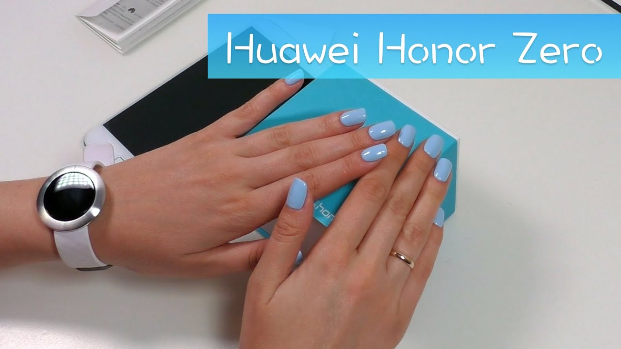 Huawei Honor Zero - самые стильные умные часы