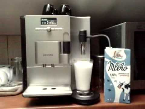 siemens eq7 tk 73001 latte macchiato separately after 30 sec youtube. Black Bedroom Furniture Sets. Home Design Ideas