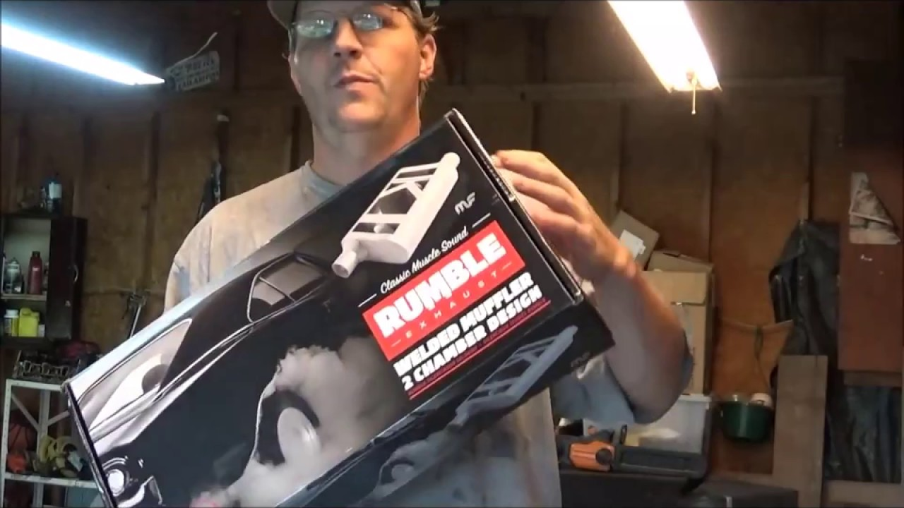 Free Flow Exhaust >> MAGNA FLOW RUMBLE EXHAUST $35 MUFFLER FROM AUTOZONE REVIEW AND TEST DRIVE - YouTube